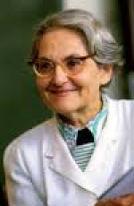 Color picture of Dr. Maria Hari smiling in white doctor dress.