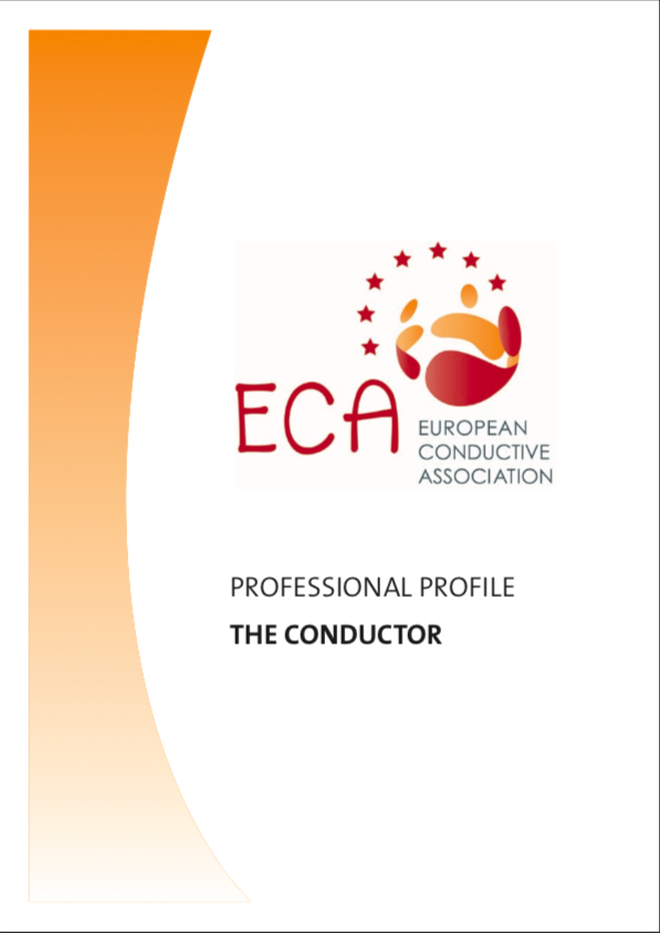 Picture of the front cover of the ECA professional conductor profile.