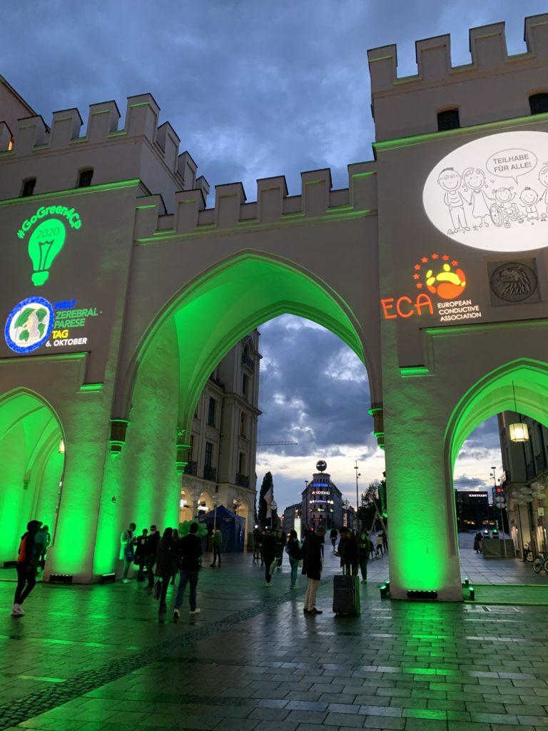 WCPD 2020 Illumination Karlstor, Germany